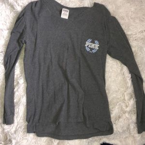 Long sleeve shirt from pink
